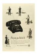 Bell Telephone System Advert