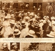 Boer War Soldiers Leave for the Front
