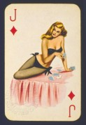 BIBA playing card, Jack of Diamonds