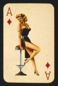 BIBA playing card, Ace of Diamonds