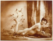 """Solonge"", nude model, Paris"
