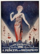 Poster for A Princess on Broadway