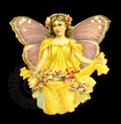 Flower Fairy in Yellow