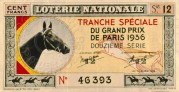 French National Lottery Ticket