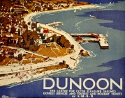 LNER poster for Clyde Pleasure Sailings from Dunoon