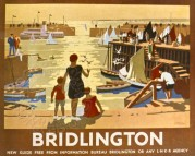 LNER poster for Holidays in Bridlington