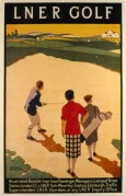 LNER poster for Golf trips to Scotland