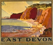 Southern Railway Poster for East Devon
