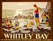 LNER poster for Whitley Bay