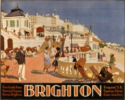 Southern Railway poster for Brighton