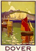 Southern Railways poster for Dover, Kent
