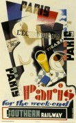 Southern Railway poster for Paris