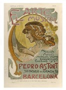 Poster for The Musical Arts in Barcelona
