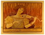 Advert for Violin Lessons
