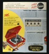Advert for the Gramdeck Record Player