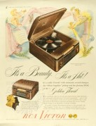 Advert for RCA Victor Record Player