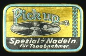 Pick Up Record Needle Tin