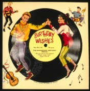 Record Cover for 'Birthday Wishes' by The Washboard Birthday Special