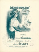 Music Sheet for Renouveau