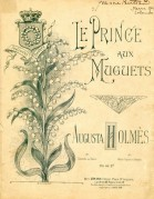 Music Sheet for Le Prince aux Muguets
