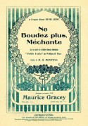 Music Sheet for Ne Boudez plus, Méchante