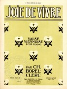Music Sheet for Joie de Vivre