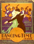 Music Sheet for Dancing Time