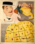 Programme Cover for The Palace Theatre