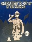 Music Cover for 'Oh! How I hate to get up in the Morning'