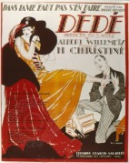 Music Cover for Dede, An Opera