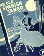 Music Cover for An Old Spanish Tango