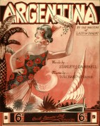 Music Cover for Argentina