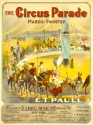 Music Cover for The Circus Parade