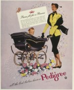 Advert for Pedigree prams