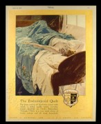 Advert for Embroiderd Quits by Clark & Company