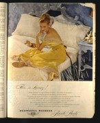 Pepperell Peerpress advert for Percale Sheets