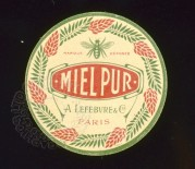 French Honey Label