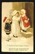 Children dressing for Christmas