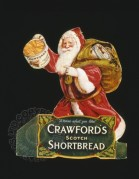 Showcard for Crawfords Scotch Shortbread