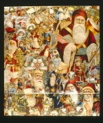 A Christmas Paper Montage