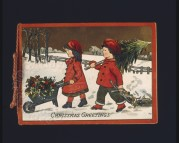 Christmas Greetings Label