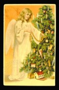 An Angel dresses the tree