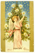 An Angel Lights the Tree