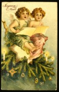 Two Angels on top of the Tree