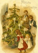 A German Christmas Postcard