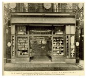 W.H. Smith & Son bookshop, Wigmore Street, London