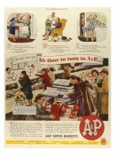 Advert for A & P Super Markets