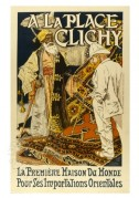 French advert for A Place de Clichy, Eastern Imports