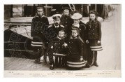 Czar Nicholas II and his family