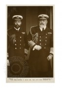 King George V with King Edward VII